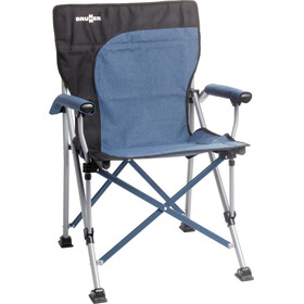 Brunner Raptor Demtex Campingstol, black/blue